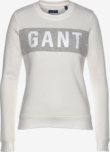 GANT Gant Sweatshirt in grau / weiß, Produktansicht