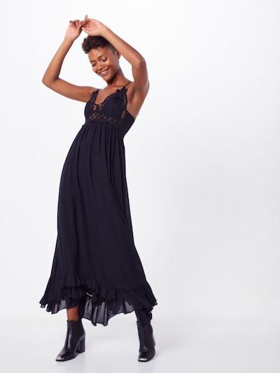 Free People Kleid 'ADELLA MAXI SLIP' in schwarz, Modelansicht