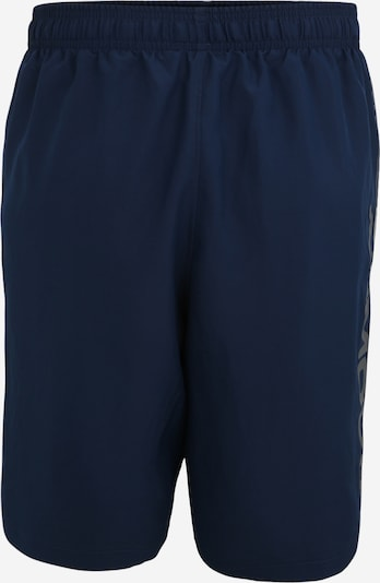 UNDER ARMOUR Pantalon de sport 'Woven Graphic Wordmark' en bleu marine, Vue avec produit