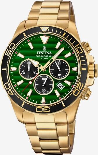 FESTINA Chronograph-Uhr 'Prestige Kollektion, F20364/4' in gold, Produktansicht