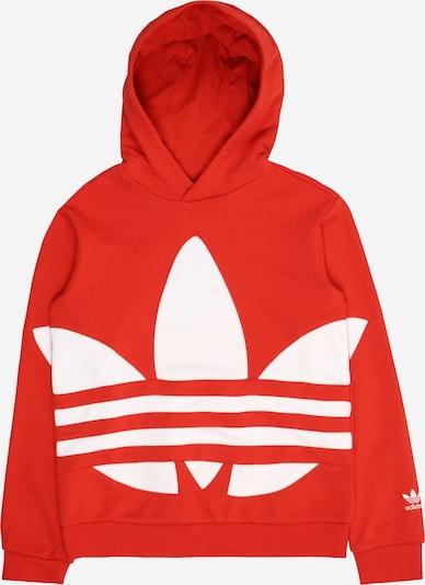 ADIDAS ORIGINALS Sweatshirts  'Trefoil' in hellrot / weiß, Produktansicht