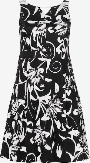 SHEEGO Cocktailkleid in schwarz / weiß, Produktansicht