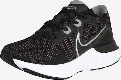 NIKE Laufschuh 'Renew Run' in silbergrau / schwarz / weiß, Produktansicht