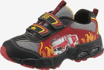 Sneaker LICO di colore giallo / grigio / rosso / nero, Visualizzazione prodotti