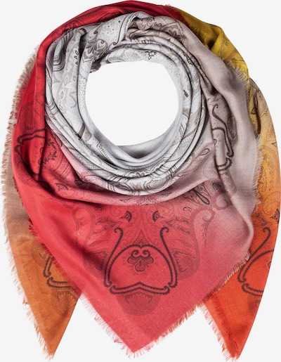 CODELLO Wrap 'Indian Summer' in Dark brown / Yellow / Orange / Rusty red / White, Item view