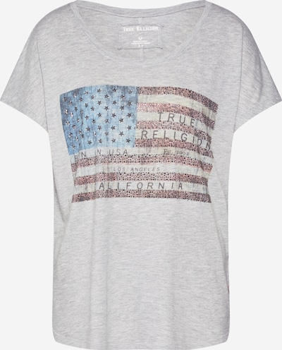True Religion Shirt 'RELAX AMERICAN' in de kleur Grijs gemêleerd, Productweergave