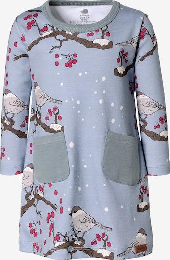 Walkiddy Jerseykleid, Organic Cotton in grau, Produktansicht