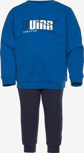 PUMA Jogginganzug in blau / kobaltblau, Produktansicht