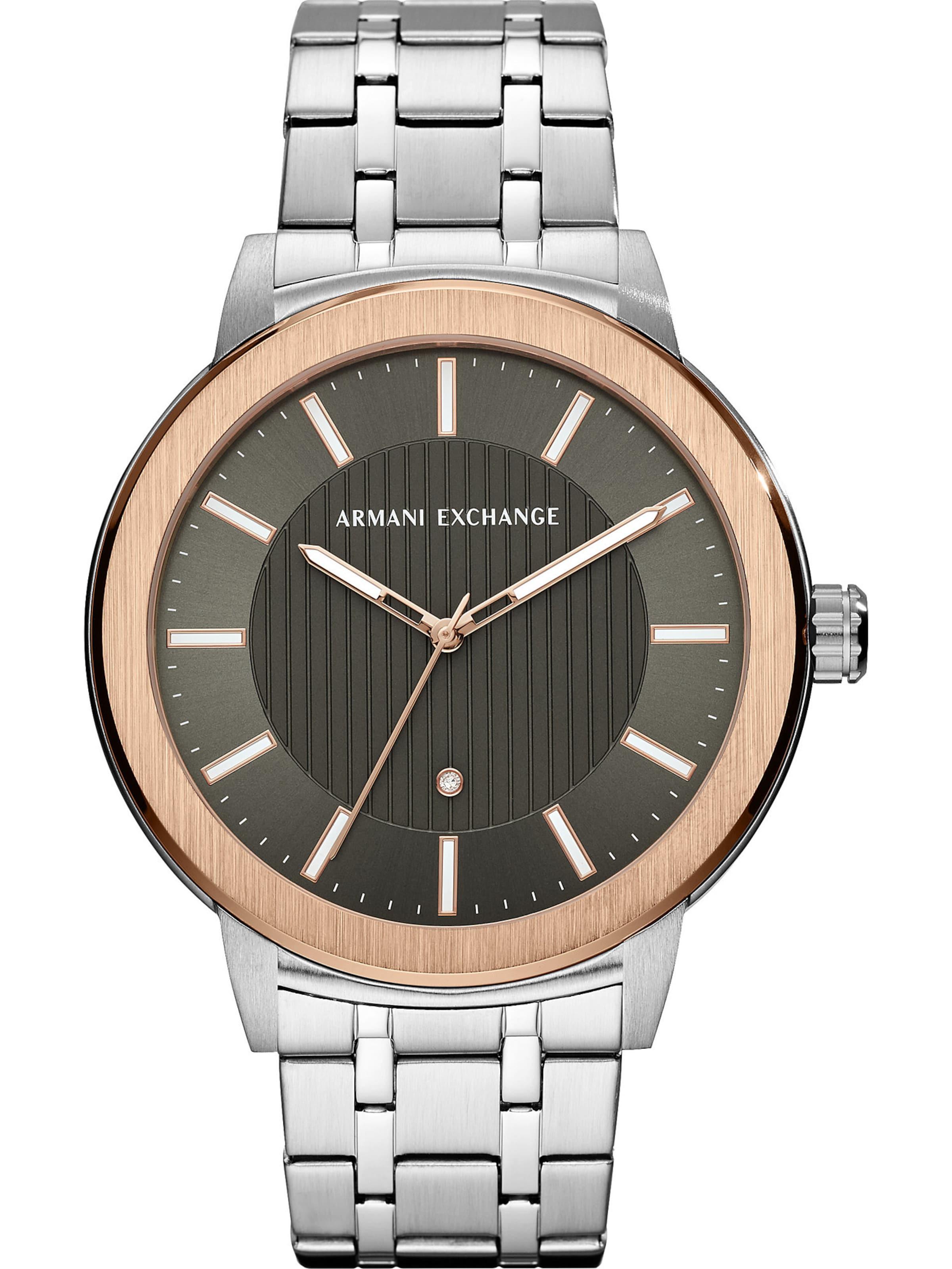 Uhr Exchange Silber Armani GoldGrün In fv76gYby
