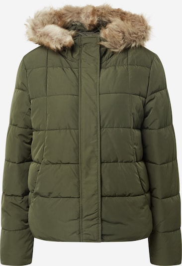 JACQUELINE de YONG Winterjacke 'Sunset' in khaki, Produktansicht