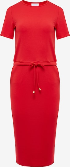 Usha Kleid in rot: Frontalansicht