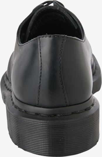 Dr. Martens Schnürschuhe '1461 8 Eye Boot Smooth' in schwarz: Rückansicht