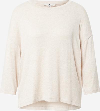 TOM TAILOR Shirt in beige, Produktansicht
