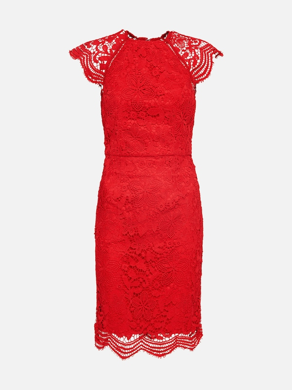 Chi Chi London Cocktailkleid In Rot About You