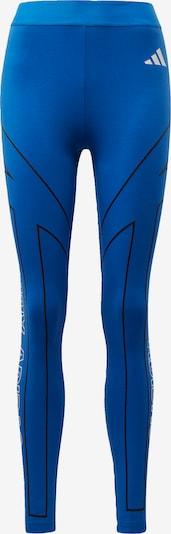 ADIDAS PERFORMANCE Sporttight in blau / schwarz / weiß, Produktansicht