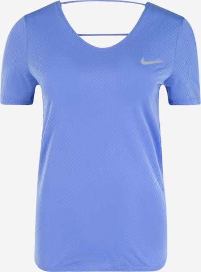 NIKE T-Shirt in saphir / hellgrau, Produktansicht