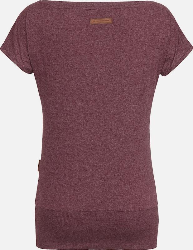 Naketano En Bordeaux T shirt 'wolle' VpUzMSq