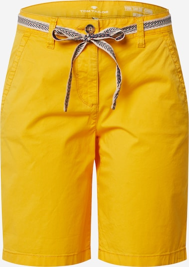 TOM TAILOR Bermudashorts in goldgelb, Produktansicht