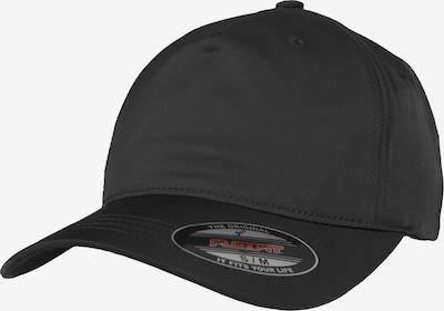 Flexfit Flex Cap in schwarz: Frontalansicht