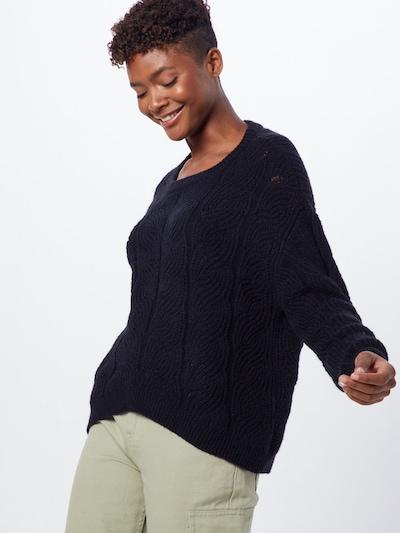 VERO MODA Pulover 'STYLISH' | črna barva, Prikaz modela