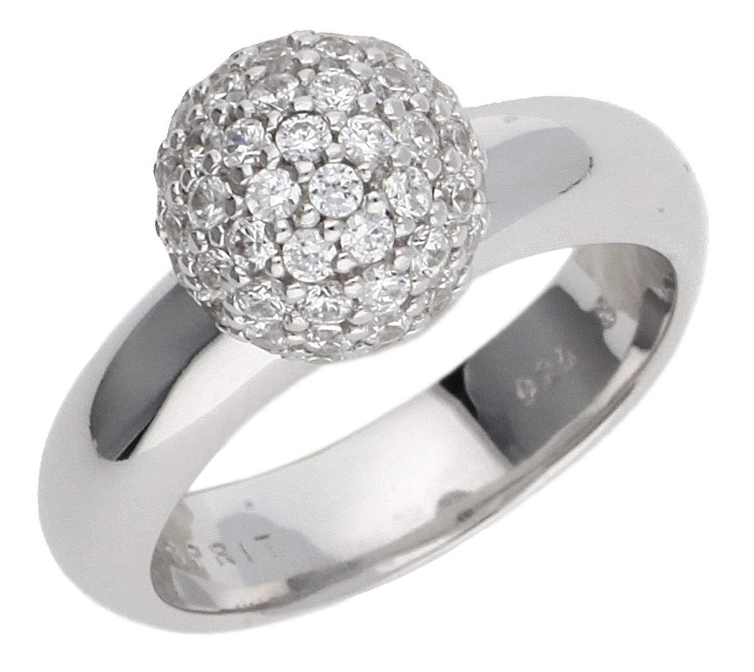 Für Schönen Günstigen Preis ESPRIT Damen Fingerring 925 Silber Silber Glam Sphere ESRG92309A Online Shop EksHz8mujq