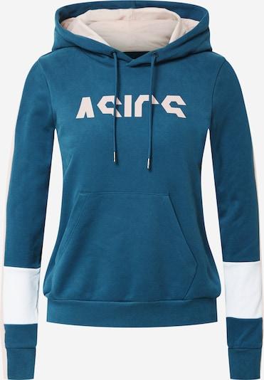 ASICS Sportief sweatshirt in de kleur Blauw / Rosa / Wit, Productweergave