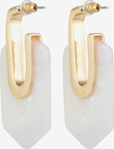ABOUT YOU Boucles d'oreilles 'Amanda' en or / blanc: Vue de dos