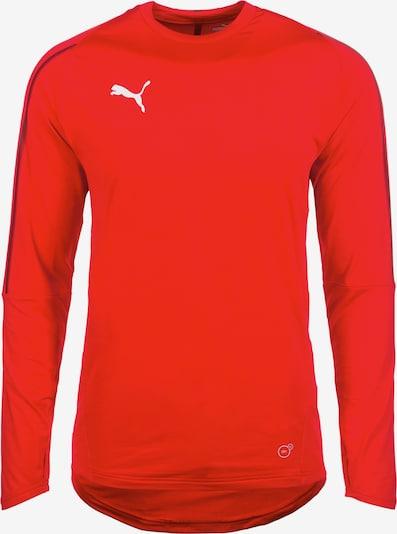 PUMA Sportsweatshirt 'Final' in de kleur Oranjerood, Productweergave