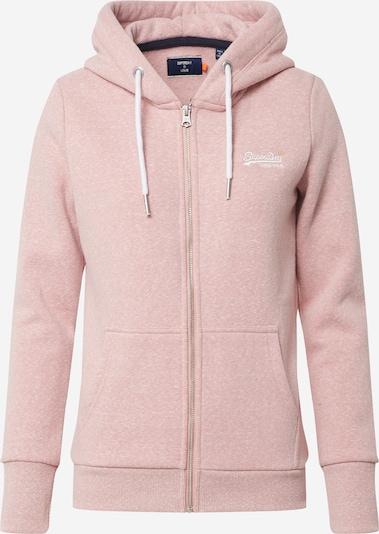 Superdry Bluzka sportowa w kolorze różowy pudrowym, Podgląd produktu