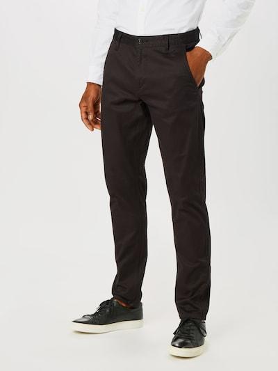 Pantaloni eleganți 'Alpha Original' Dockers pe negru: Privire frontală