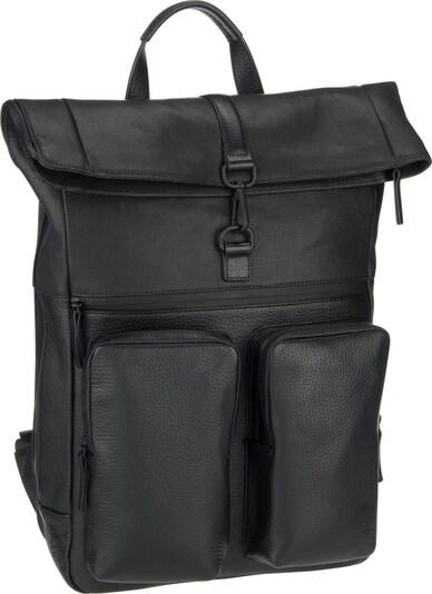 JOST Rucksack 'Stockholm 4552' in schwarz: Frontalansicht