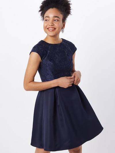 Chi Chi London Kleid 'CHI CHI YASMINA DRESS' in navy, Modelansicht