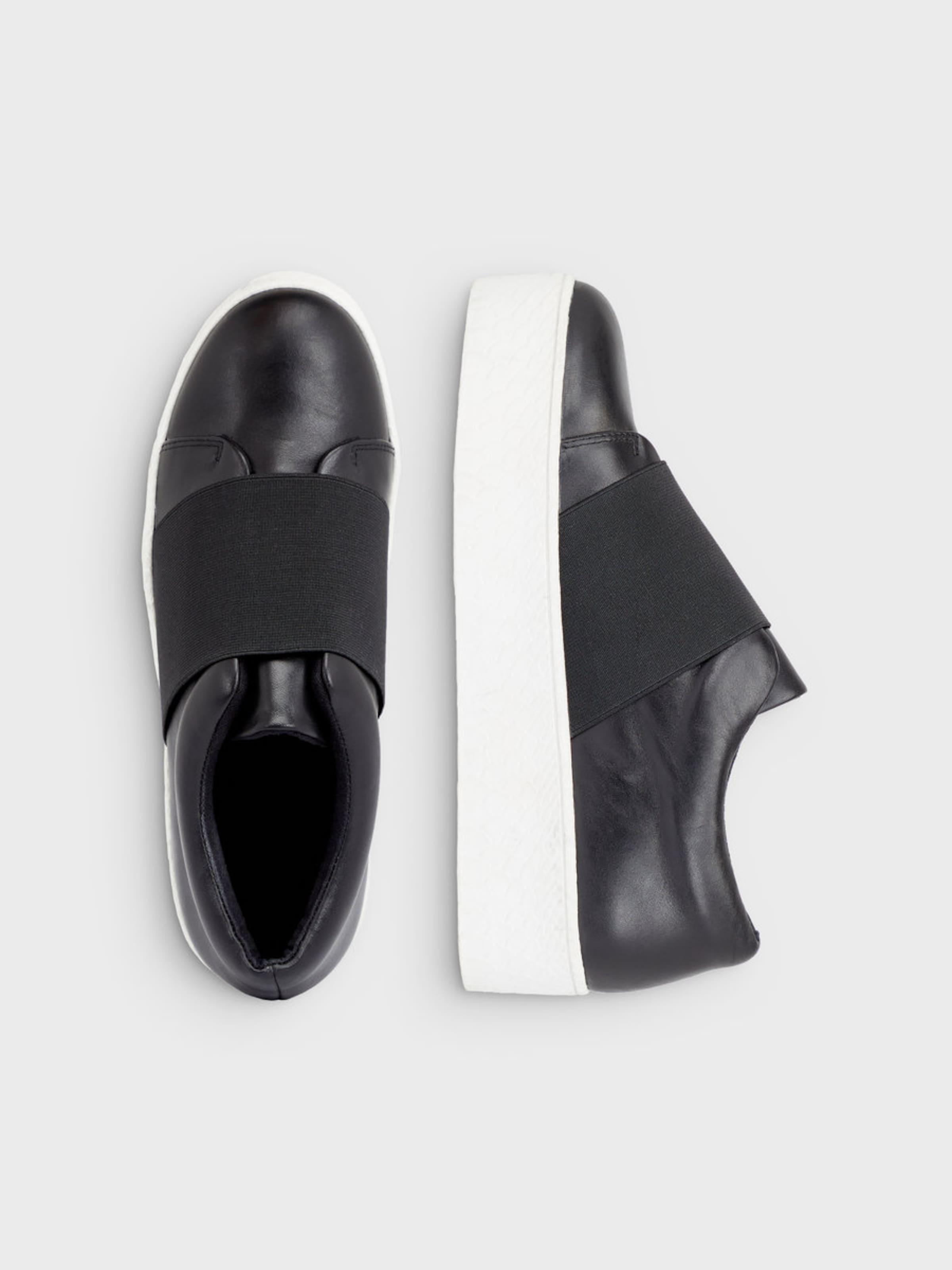 Kaufen Preiswerte Qualität Verkauf Websites Bianco Leder Plateau Sneaker GnXx4ymH