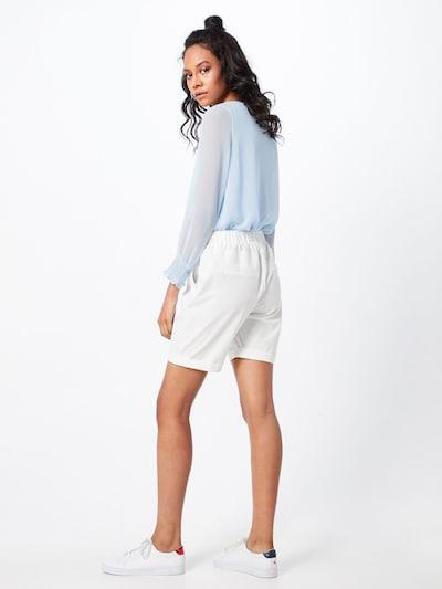Kaffe Spodnie 'Nanci Jillian Bermuda Pants' w kolorze białym: Widok od tyłu