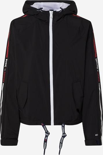 TOMMY HILFIGER Jacke in rot / schwarz / weiß, Produktansicht