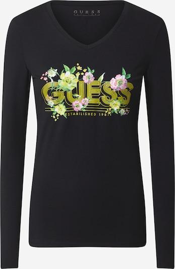 GUESS Tričko 'JUNIPER' - žltá / zelená / ružová / čierna / biela, Produkt