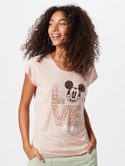 ZABAIONE T-shirt 'Emilia' en rosé / noir: Vue de face