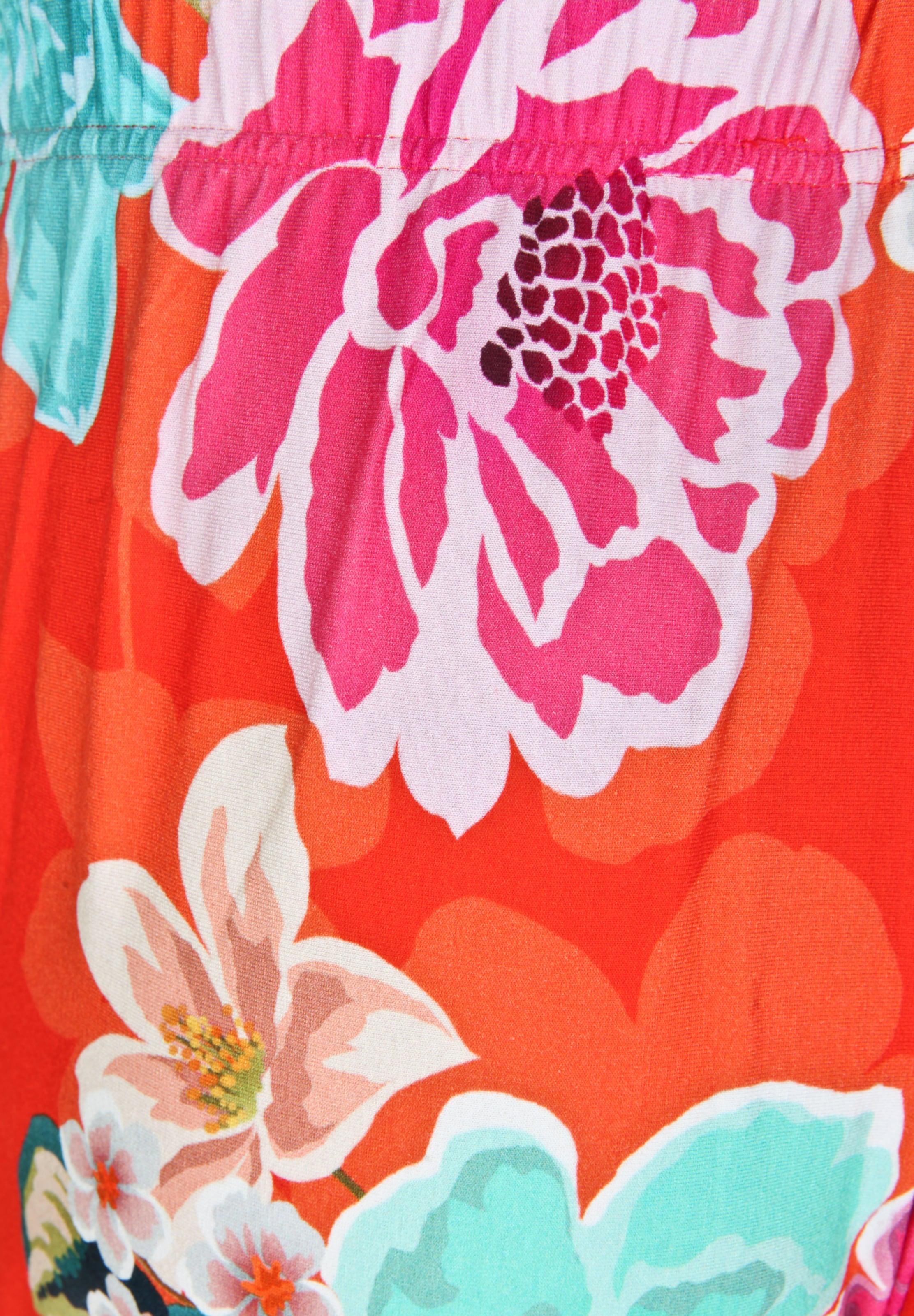 Blumenmuster Seeyou Hose Rot In Mit Y7fyvb6g