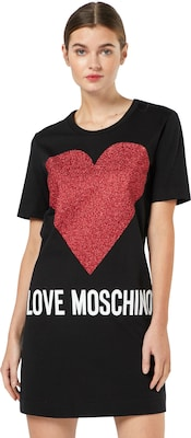 Love Moschino T-Shirt Kleid 'W5A0203M3897'
