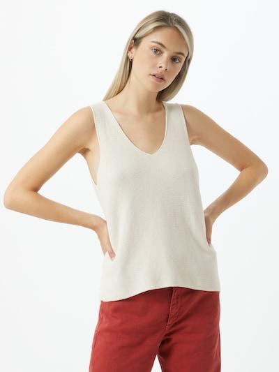 ARMEDANGELS Top 'Wilmaa' in weiß, Modelansicht