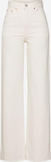 LEVI'S Jeans 'RIBCAGE' in weiß, Produktansicht