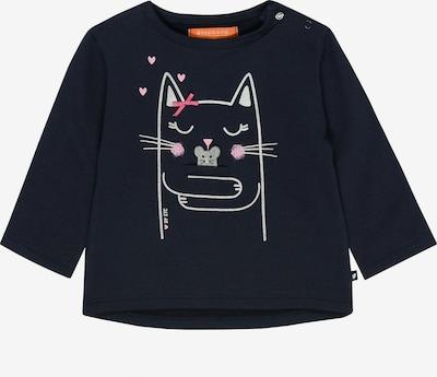 STACCATO Sweatshirt in nachtblau / grau / rosa / weiß, Produktansicht