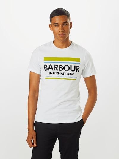 Barbour International Shirt in de kleur Wit: Vooraanzicht