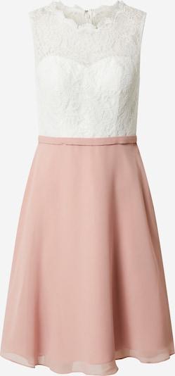 Rochie de cocktail mascara pe fildeş / roze, Vizualizare produs
