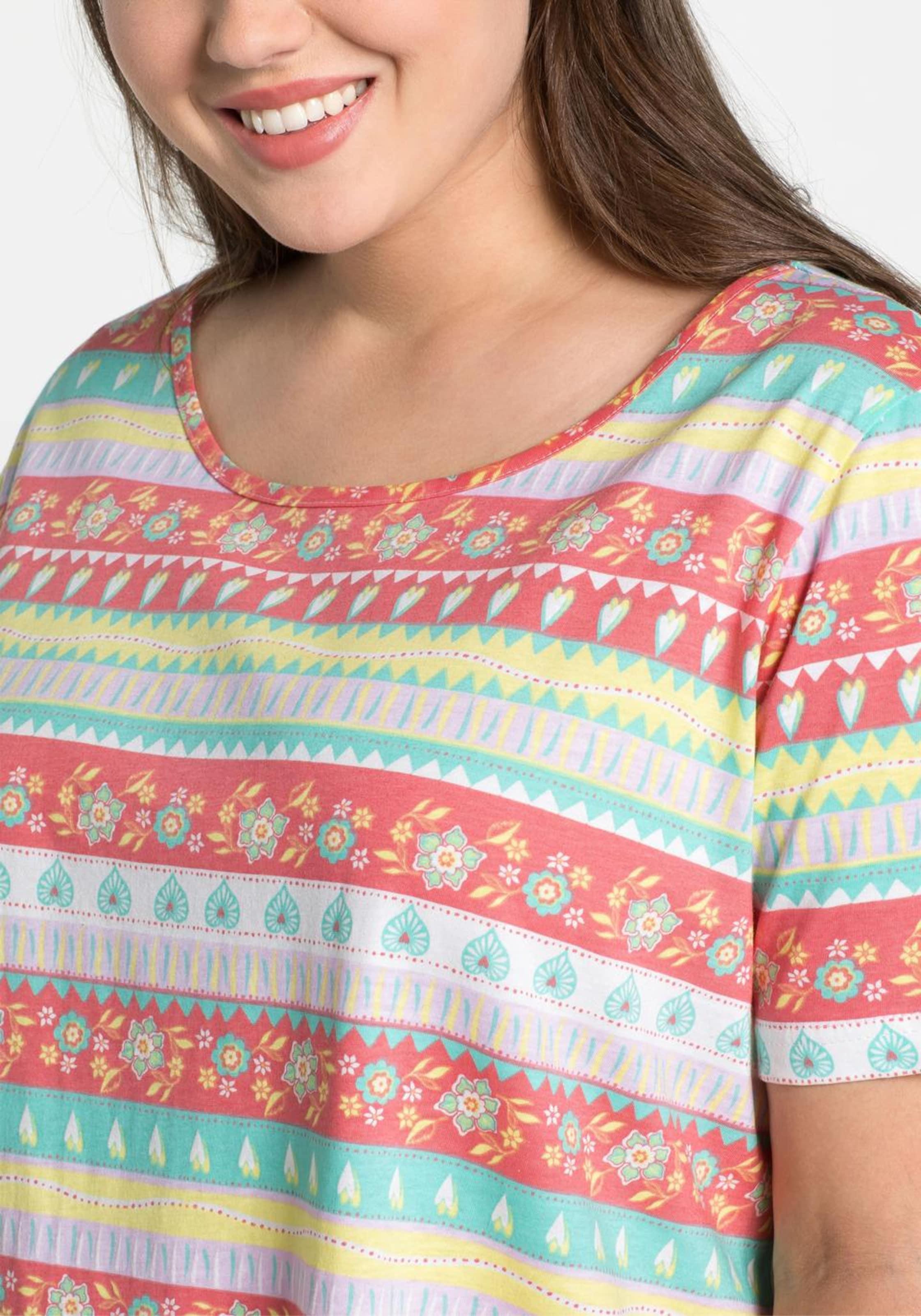 Sheego In shirt T Mischfarben T Sheego T Sheego Mischfarben In shirt shirt MzVqSpGU