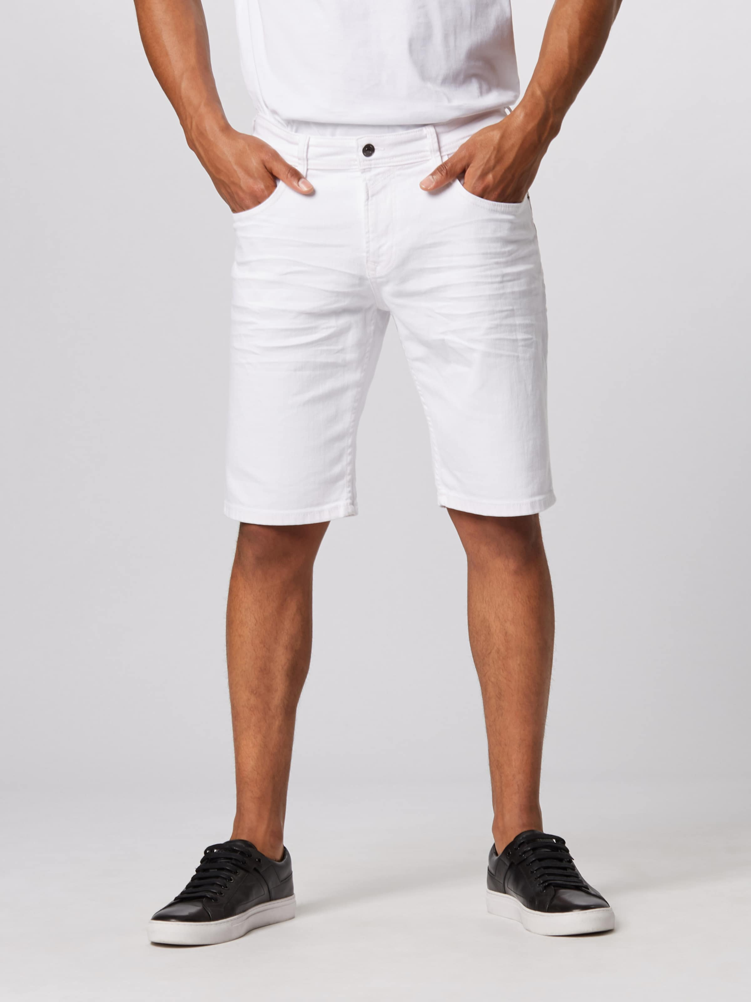 Shorts Tailor Weiß In Tom Denim hBsxdQotrC