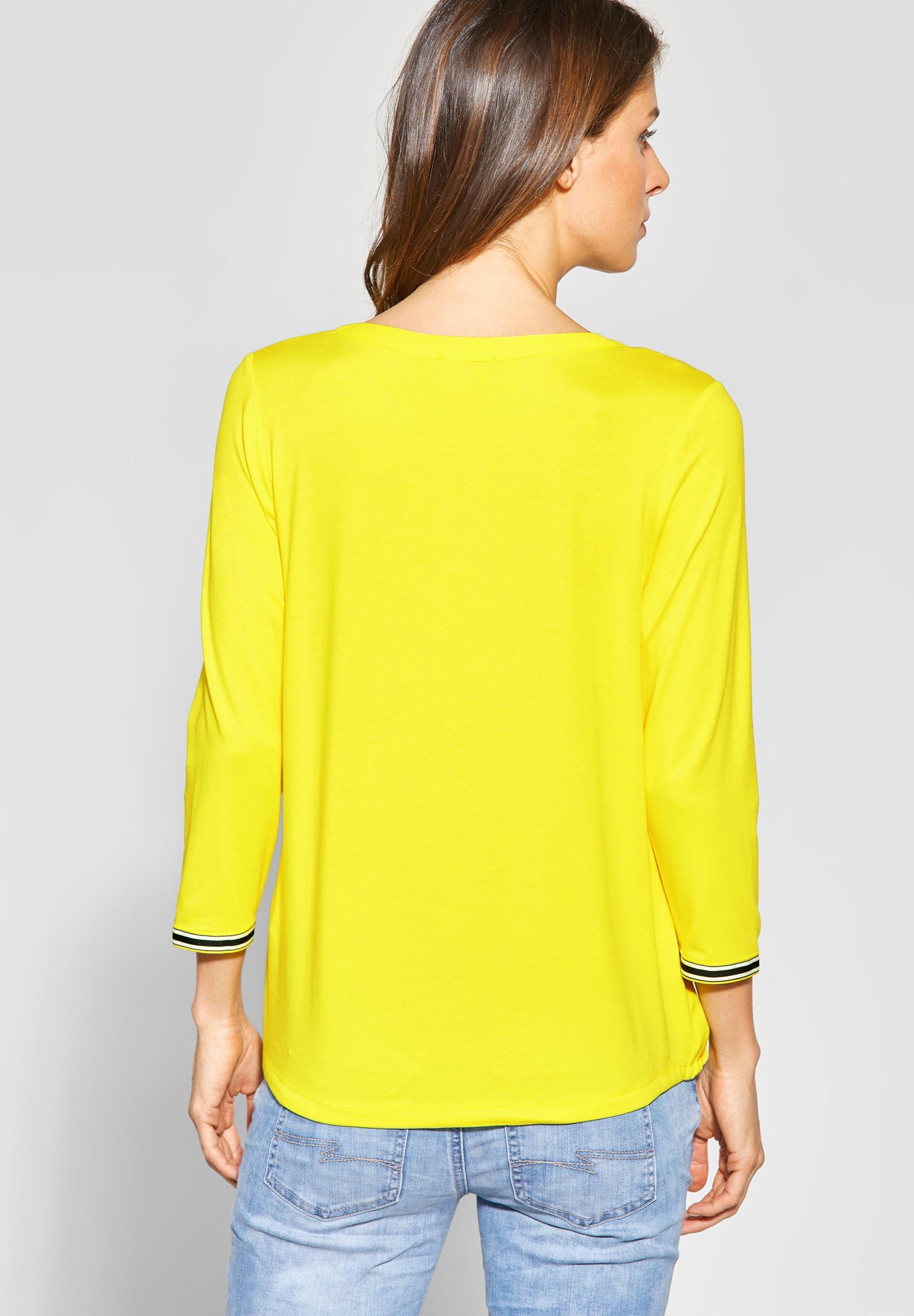 Street Weiß Shirt In One GelbSchwarz E9DIWH2Y