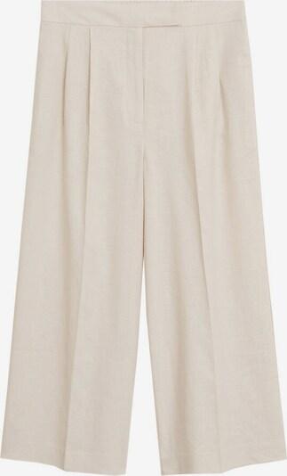 MANGO Pantalon à plis 'Tempoli' en gris clair, Vue avec produit