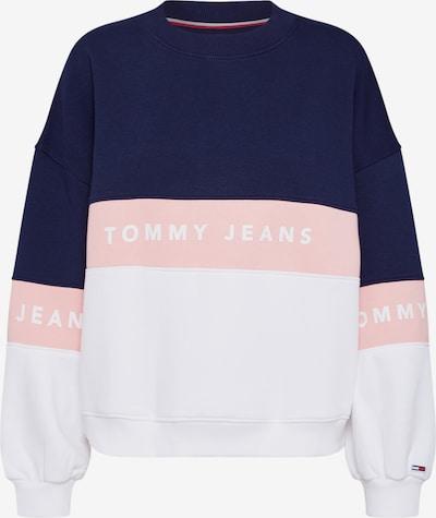 Tommy Jeans Sweatshirt in blau / pink / weiß, Produktansicht