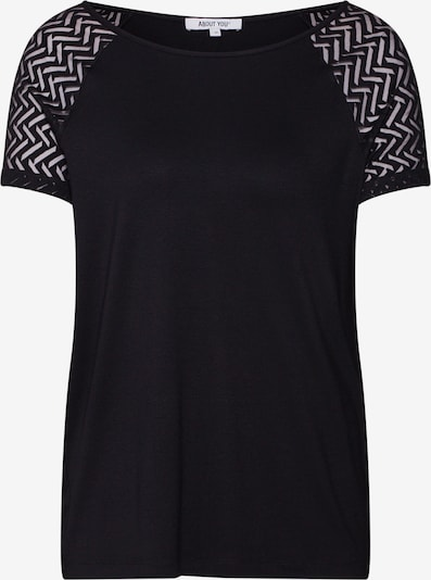 ABOUT YOU Shirt 'Pina' in schwarz: Frontalansicht